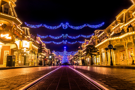 Main Street, Disneyland Paris Editorial