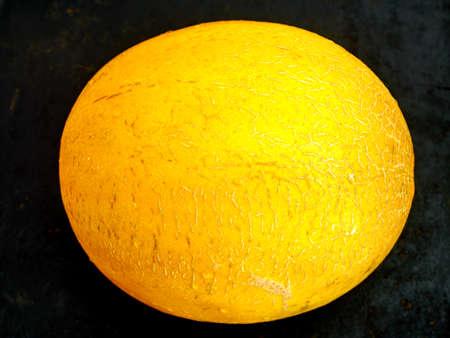yellow golden not cut whole whole ripe melon