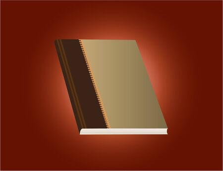 Vector of a red dairy book 向量圖像