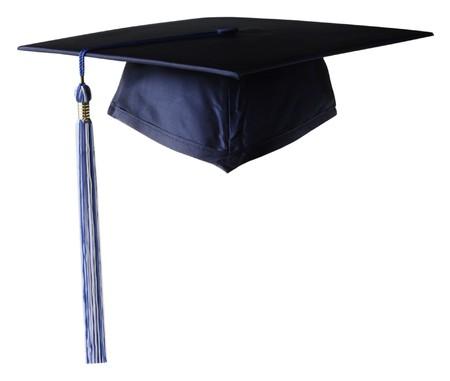casquetes: de graduaci�n de la tapa Foto de archivo