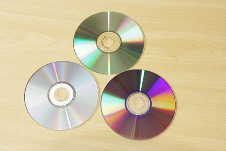 Three disc Stock Photo
