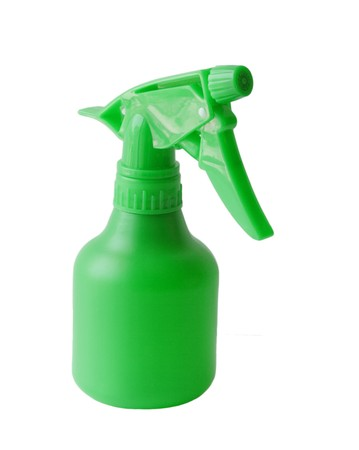 cleanser: Watering Bottle Stock Photo
