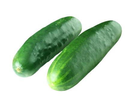 cucumbers: Two cucumbers