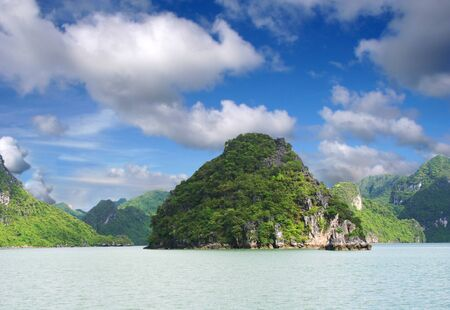 Halong Bay Mountains Stock Photo - 4282386