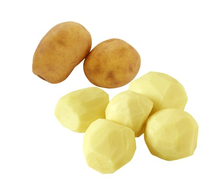 Group of potatoes 版權商用圖片