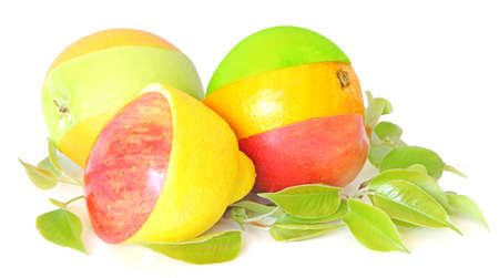 Group of mixed fruits Stock Photo - 4849904