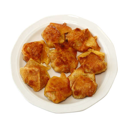 Deep Fried wonton stuffed with meat  photo