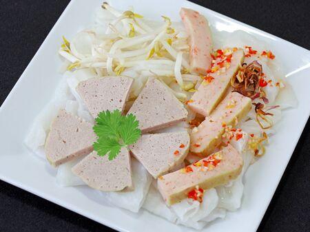 Rice Cake with shrimp paste photo