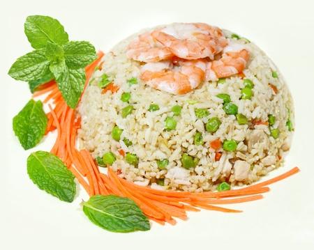 ベトナム料理のチャーハン 写真素材