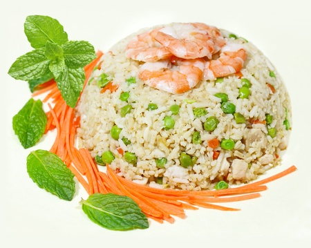Fried rice, Vietnamese cuisine Archivio Fotografico