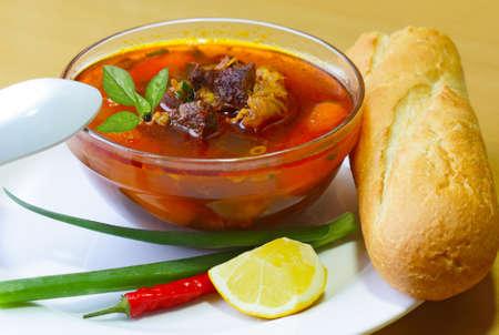 Beef and Vegetable Stew, Vietnamese cuisine Stok Fotoğraf