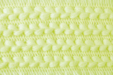 Crochet pattern of woolen scarf for abstract background photo