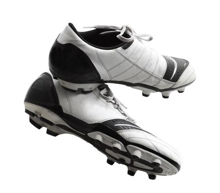 Old soccer shoes, football boots, cleats, cleet photo