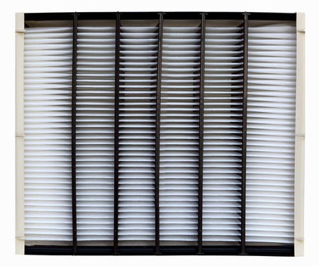 Clean cooling and heating air filter photo