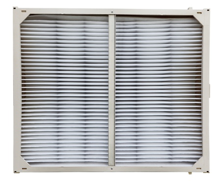 filtration: Clean airfilter for central air and furnace cooling and heating system