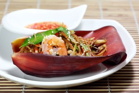 バナナの花のサラダ ベトナム料理 写真素材 - 13550502
