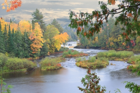 Lower Tahquamenon Waterfalls Island Upper Peninsula Pure Michigan