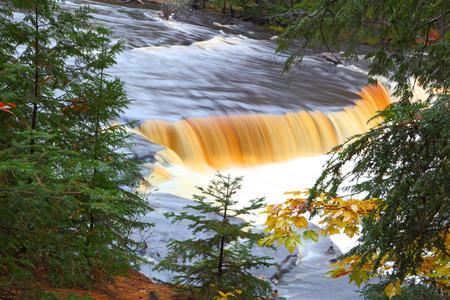 Tahquamenon Stream landscape upper peninsula Michigan