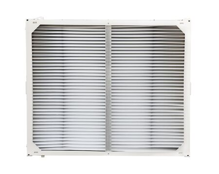 air filter: Air conditioner and funace filter isoalted on white background