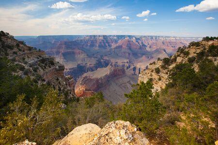 South rim Grand Canyon Park, Arizona in September