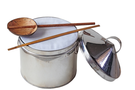 Utensils for making rice pancake wrapper, steame rice noodle sheets, flour rolls