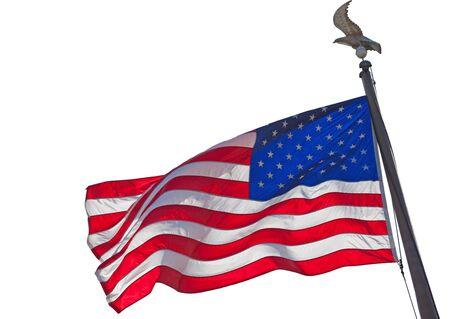 American Flag 版權商用圖片