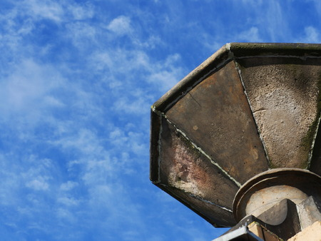 beatuful: Beatuful blue sky and part of monument