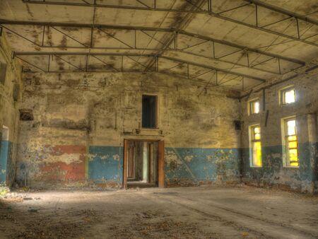 abbeys: ancient ruins of military base in RIga Stock Photo