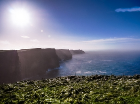 moher: Cliffs of Moher in County Clare, Ireland Stock Photo
