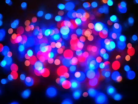 Colored red and blue color bokeh background photo