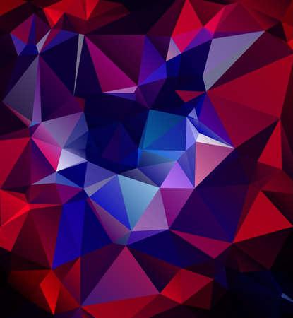 Colorful Polygonal Mosaic Background, illustration,  Creative  Design illustration