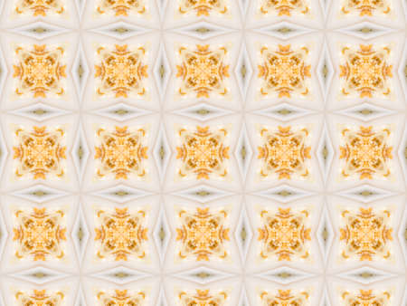 crystal background: Colored Ethnic pattern. Abstract kaleidoscope fabric design.