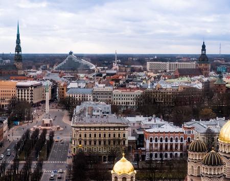 historic buildings: ancient and historic buildings at Riga, Latvia