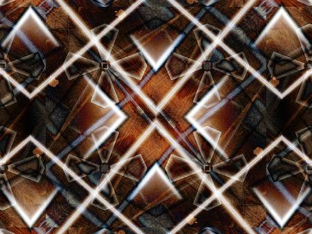 brown color drawing in kaleidoscope pattern - brown color drawing in kaleidoscope pattern for background