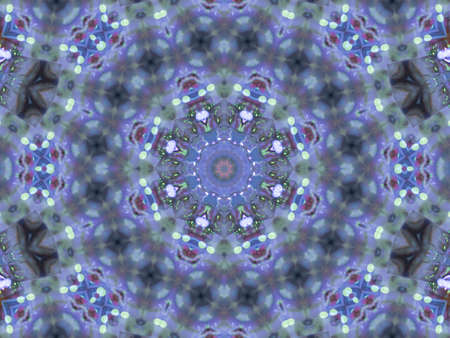 repeating background: Pattern of macro kaleidoscope abstract background patern Stock Photo