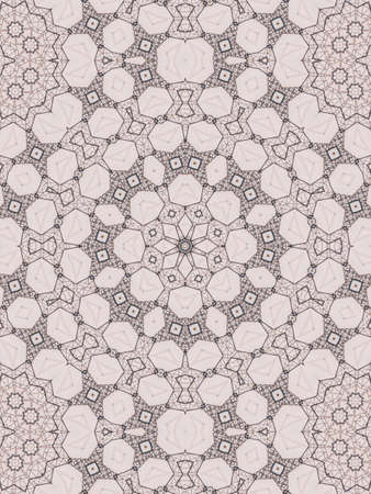 kaleidoscopic: Pattern of macro kaleidoscope abstract background patern Stock Photo