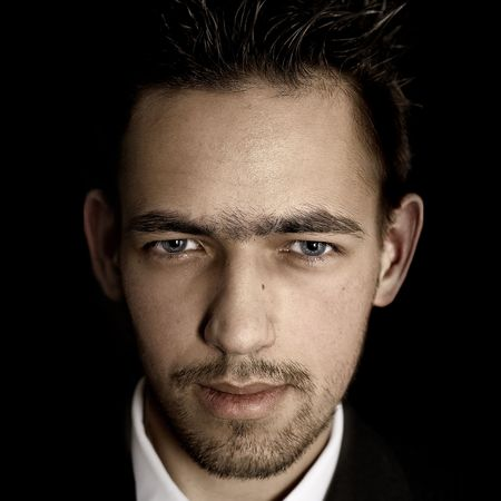 Chicago style male portrait photo