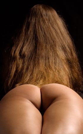 tanned girl bottom Stock Photo - 410391