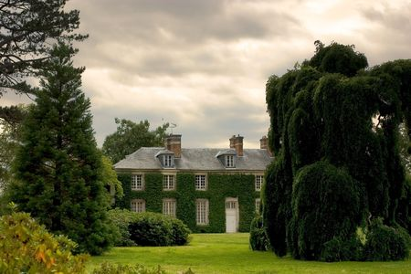 idealistic: big beautiful house