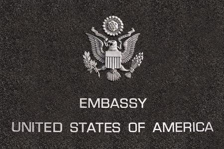Botschaft des Staaten von Amerika Brettes