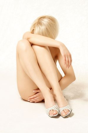 female nudity: classical female nudity picture Stock Photo