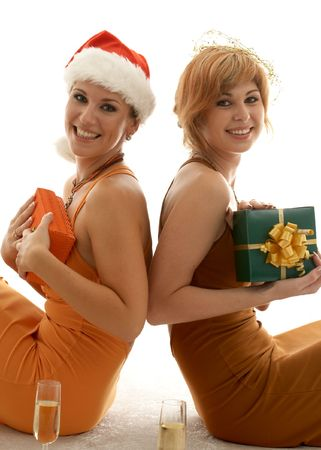 who beauties celebrating christmas photo
