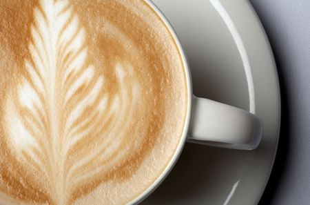 close-up shot of barista coffee cup Stock Photo - 509270