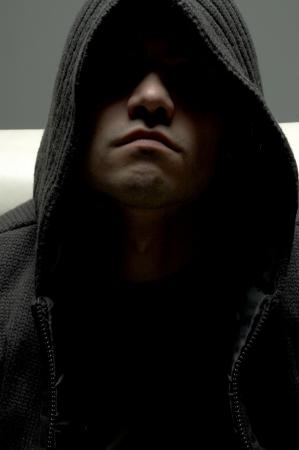 dark portrait of dangerous man Stock Photo - 521882