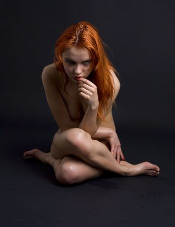 Naked black on redhead free pictures — photo 15