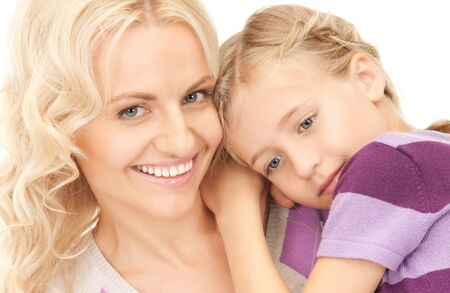 bright picture of happy mother and child Stock Photo - 8072180
