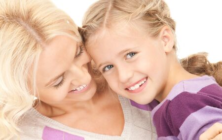 bright picture of happy mother and child Stock Photo - 8072687