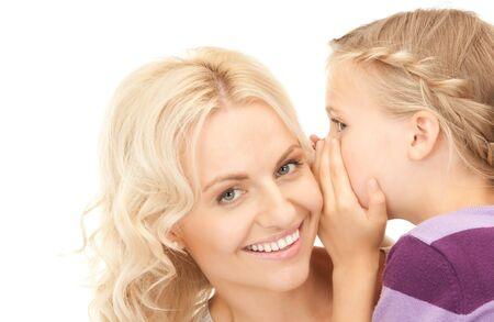 bright picture of happy mother and child (focus on girl) Stock Photo - 8072847