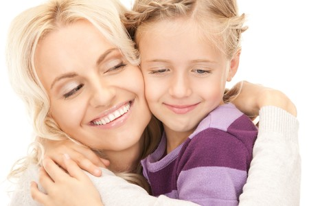 bright picture of happy mother and child Stock Photo - 8073019