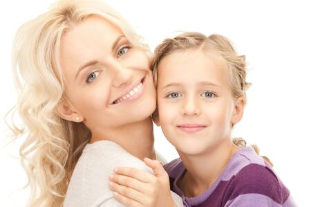 bright picture of happy mother and child Stock Photo - 8073069